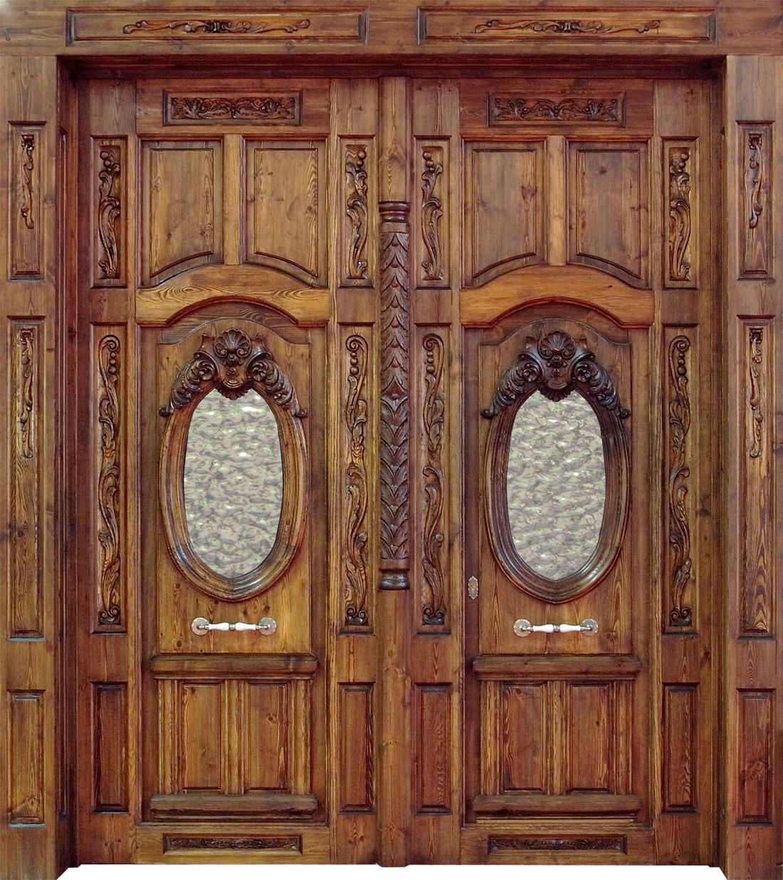 Puertas de entrada outdoors on pinterest puertas - Puertas de madera para entrada principal ...
